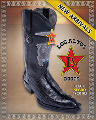 The Monster Boots Big Caiman Tail Western Cowboy Boots Los Altos Boots  Style 98C0105