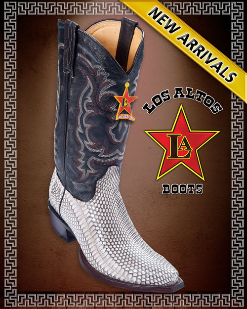 Genuine Cobra Snake Western Boots Style 944049