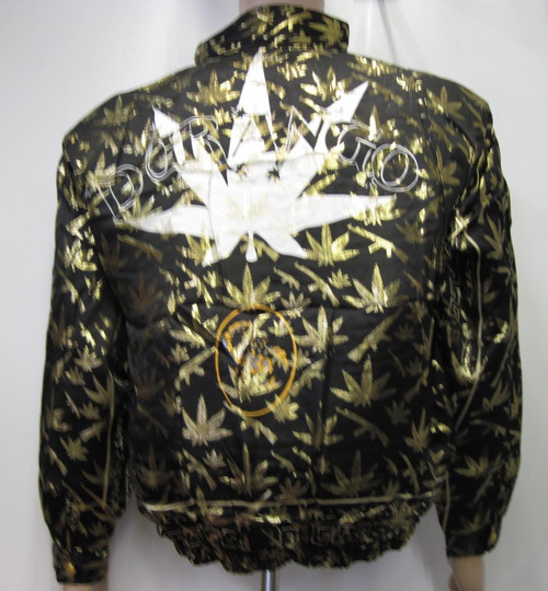 Durango Cannabis Leaf and AK47 Bomber Jacket