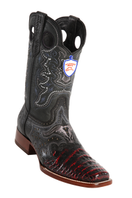 Wild West Rodeo Saddle Western Boots Black Cherry Style:2828218