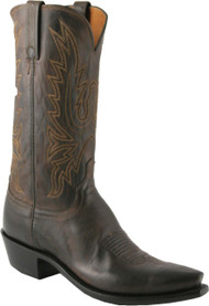 Lucchese Heritage Mens Chocolate Mad Dog Goat Cowboy Boots N1556