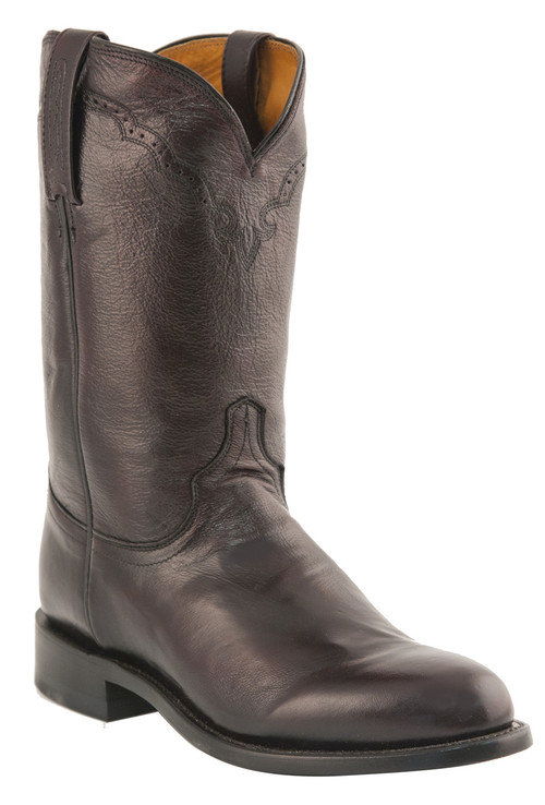 Mens Lucchese Since 1883 Black Cherry Roper Boots M1011