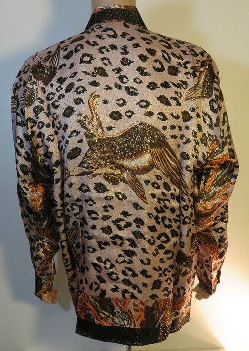 Flying Eagle Silk Shirt