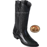 Black Cherry Ostrich Boots Los Altos 650518
