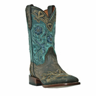 DP2914 Cowgirl Certified BlueBird Square Toe Womens Boots