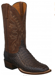 Lucchese Mens Hornback Boots CL1027 Handcrafted