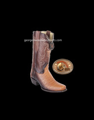 Mens Oryx/Choco Caiman Belly Los Altos Boots 588253