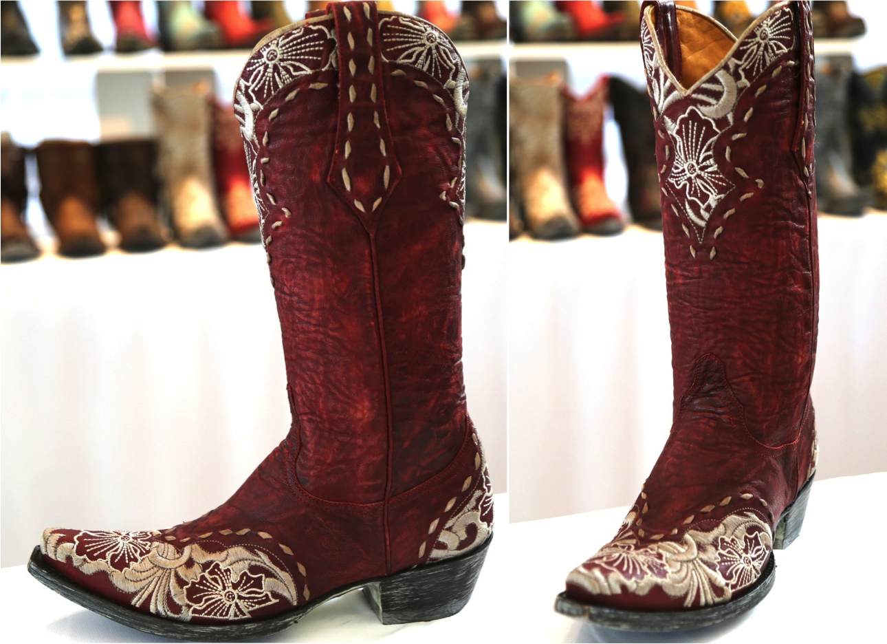 Old Gringo Boots Erin Red L640-17