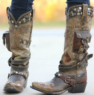 Double D Ranch Frontier Trapper Boots DD9004A Picture