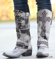 Old Gringo Krusts Boots White L1295-4 Picture
