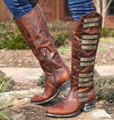 Old Gringo Elina Brass Boots L1279-4 Picture