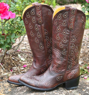 Old Gringo Asara Rust Boots L1195-1 Picture