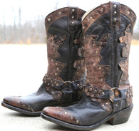 Bed Stu Rubic Black Boots Picture