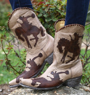 Yippee by Old Gringo Cowboy Up Boots YL091-3 Picture