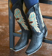 Yippee by Old Gringo Joan of Arc Black Boots YL107-2