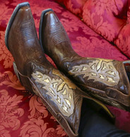 Yippee by Old Gringo Joan of Arc Brass Boots YL107-1 Picture