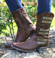 """Old Gringo Elina Brass 10"""" Boots L1279-4 Picture"""