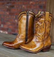 Bed Stu Lancy Tan Glaze Boots Picture
