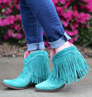 Junk Gypsy by Lane Spitfire Turquoise Boots JG0007D Picture