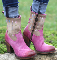 Junk Gypsy by Lane Wanderlust Pink Boots JG0011C Picture