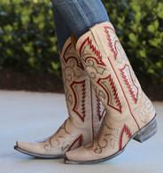 Old Gringo Trueno Bone Red Boots L2000-1 Picture