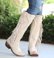 Junk Gypsy by Lane Texas Tumbleweed Bone Boots JG0009D Picture