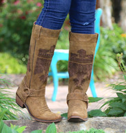 Junk Gypsy by Lane She Who Is Brave Boots JG0006A Picture