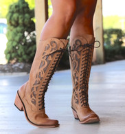Liberty Black America Tan Lace Up Boot LB71165 Picture