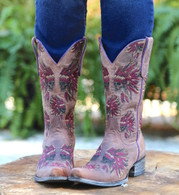 Yippee by Old Gringo Moki Tan Lilac Boots YL191-2 Picture