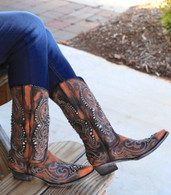 Old Gringo Dolce Stud Shedron Boots L2643-2 Picture