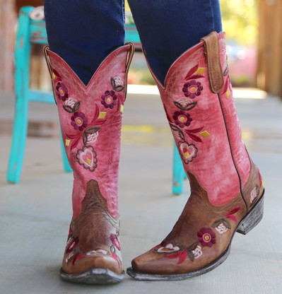 Old Gringo Onawa Oryx Pink Boots L2710-2 Picture