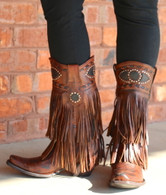 Yippee by Old Gringo Hathor Rust Boots YL221-1 Image