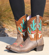 Junk Gypsy by Lane Bramble Rose Boots with Caramel Shaft JG0015C Picture