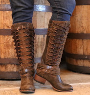 Lane Ghillegan Brown Black Boots LB0333A Picture