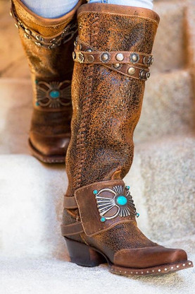 Double D by Old Gringo Bow Guard Boots DDL003-1 Picture