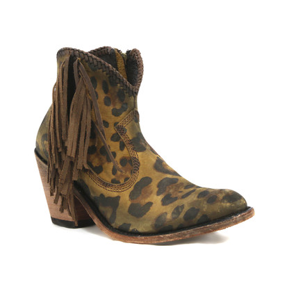 Liberty Black Chloe Chita Miel Side Fringe Boots LB712320 Picture