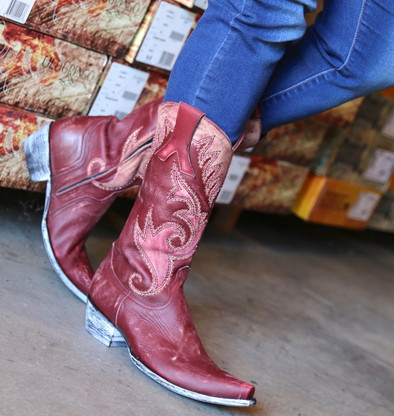 Old Gringo Marsell Rustic Wine Boots L2832-2 Picture