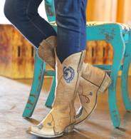 Old Gringo Marsha Bone Blue Boots L427-66 Picture