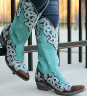 Old Gringo Marrione Aqua Boots L836-1 Picture