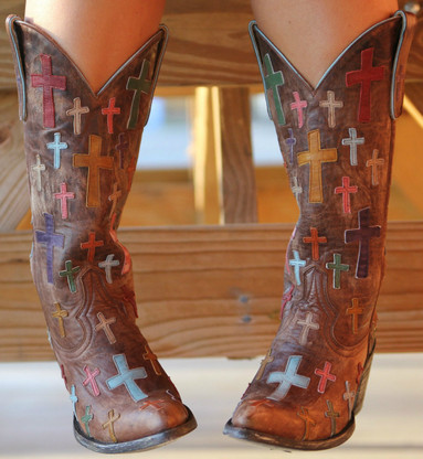 Old Gringo Oh My God Boots L819-6 | Old Gringo Crosses Cowgirl Boots