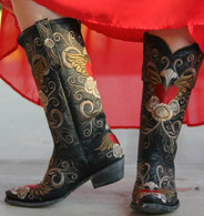 Old Gringo Grace Black Boots L639-1 Picture