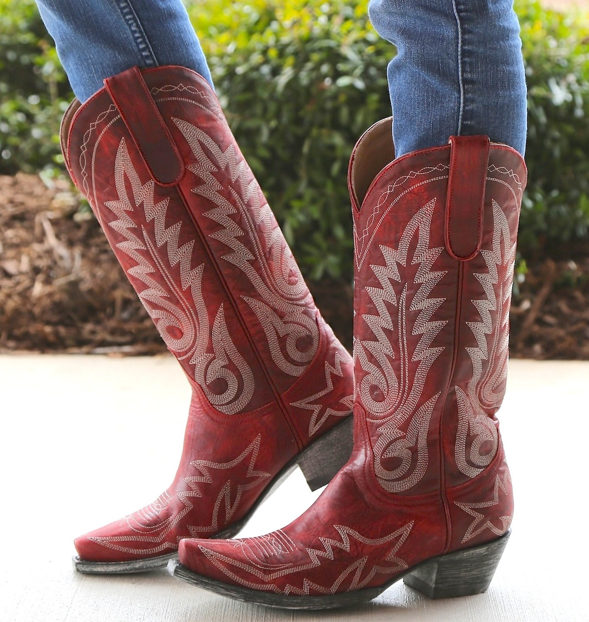 Buy Red Cowboy Boots - Boot Ri