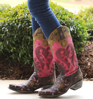 Old Gringo Letty Purple Boots L1115-6 Picture
