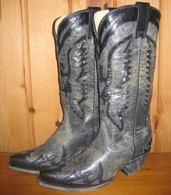 Corral Boots Black Eagle Inlay Boots R1003 Picture