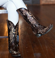 Old Gringo Lucky Chocolate Boot L515-4 Picture