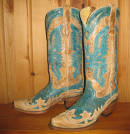 Corral Turquoise Eagle Boots R2265 Picture