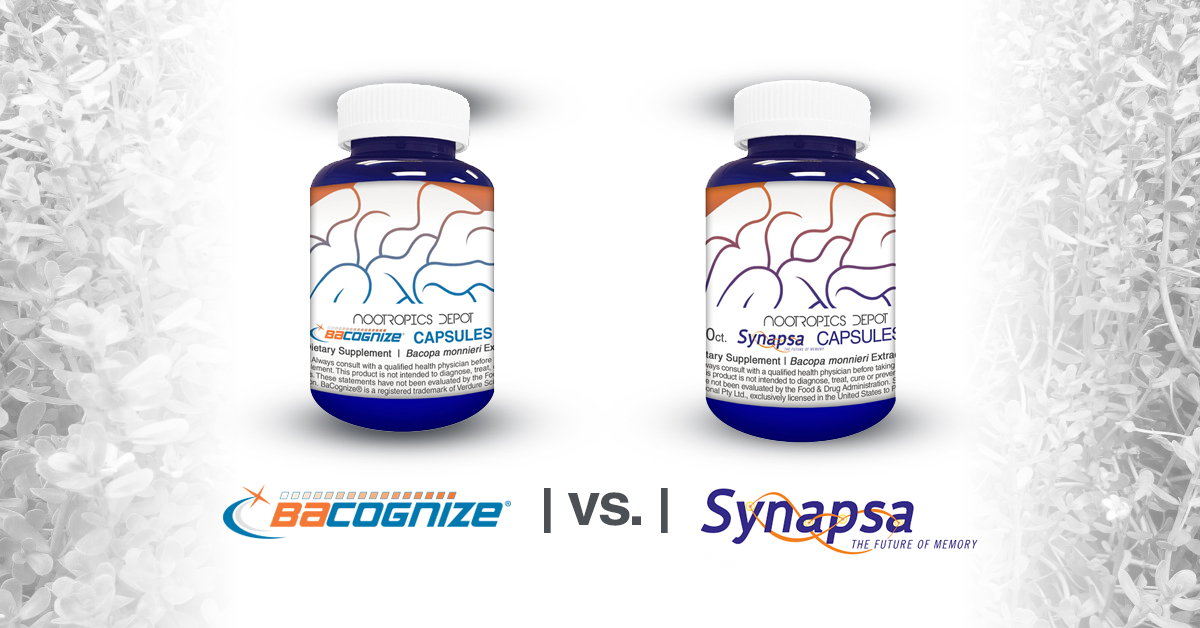 BaCognize vs. Synapsa - Which Bacopa monnieri is right for you?