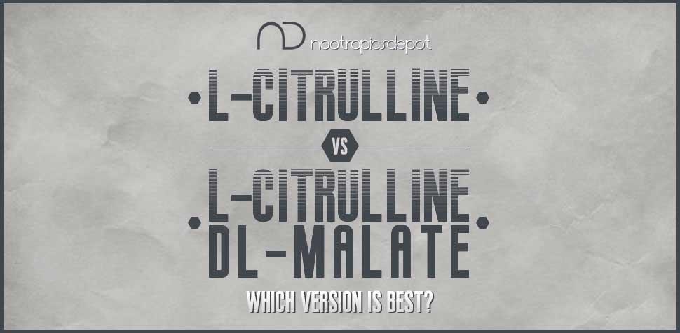 L Citrulline vs L Citrulline DL Malate
