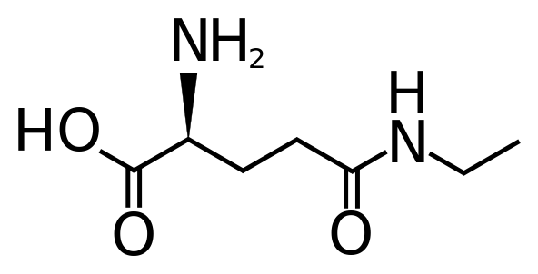 L-Theanine Structure