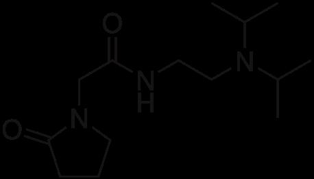 Pramiracetam Chemical Structure
